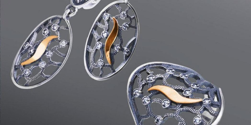 Серебро и золото: оригинальное сочетание благородных металлов
