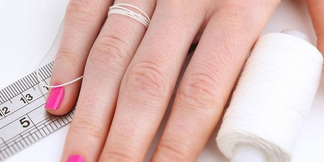 Вы хотите купить кольцо, но не знаете, какой размер ваш?